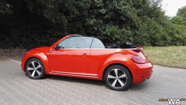 euro f r einen volkswagen beetle cabriolet jahreswagen mit 25000 km. Black Bedroom Furniture Sets. Home Design Ideas